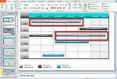 Calendar Template Powerpoint How To Make A Calendar In Powerpoint 2010 Using Shapes And