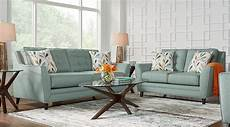 blue white orange living room furniture decorating ideas
