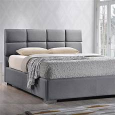 baxton studio gray king upholstered bed 28862 6685