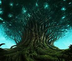 Digital Artwork Magical Tree Digital Artwork 2019 Art