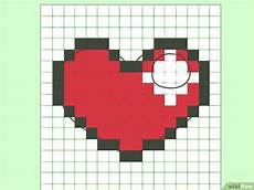 Graph Paper Art Step By Step In 8 Bit Malen Wikihow