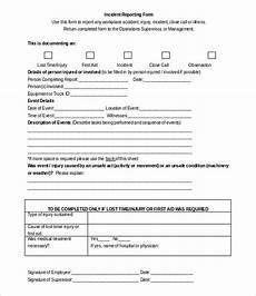 Incident Accident Report Template 50 Incident Report Templates Pdf Docs Apple Pages