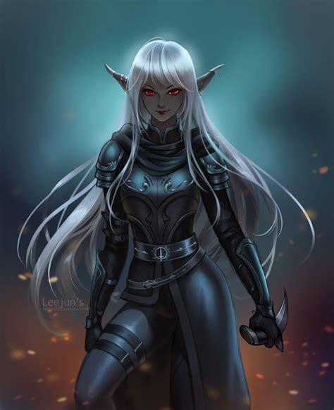 Dark Elf Anime