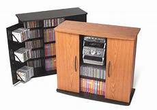 mini stereo cabinet with enclosed media storage free