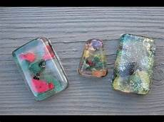 nail resin pendant craft tutorial