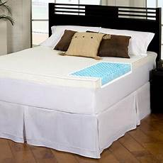 slumber solutions gel highloft 4 inch memory foam mattress