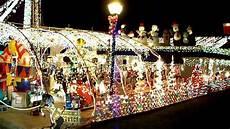 Cajun Village Christmas Lights The Villages Christmas Lights Historical Side Youtube