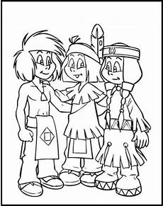 yakari and friends coloring picture for