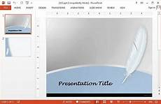 Feather Powerpoint Template Free Feather Powerpoint Templates