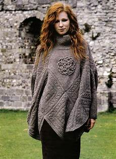 knitting poncho knitting pattern 9104 s poncho with sleeves celtic