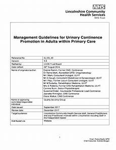 Continence Assessment Chart Get Continence Assessment Chart Form Templates To Submit
