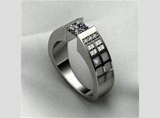 Dr. Who TARDIS Themed Engagement Ring   Geekologie