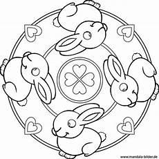 Malvorlage Hase Mandala Ausmalbilder Kostenlos Ausdrucken Kaninchen Zeichnen Und