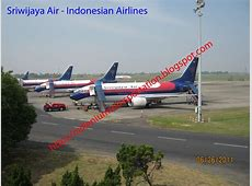 route map: Sriwijaya Air flights