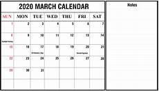 March 2020 Printable Calendar With Holidays Free March 2020 Holidays Calendar Printable Template Pdf