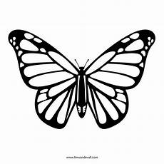 Printable Butterfly Free Butterfly Stencil Monarch Butterfly Outline And