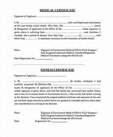 Health Certificate Sample 35 Medical Certificate Templates In Pdf Free Amp Premium