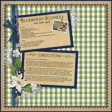 Homemade Recipe Cards Creating Recipe Cards With Digital Scrapbook Supplies
