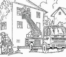 Ausmalbilder Feuerwehr Einfach Feuerwehrauto Zum Ausmalen Sch 246 N Ausmalbilder Feuerwehr
