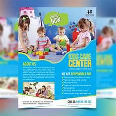 Child Care Flyer Design Classic Kids Care Flyer