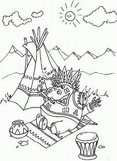 Indianer Malvorlagen Namen Indianer Ausmalbilder Animaatjes De