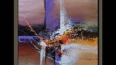 Acrylic Abstract Painting Acrylic Abstract Painting Demonstration New