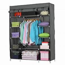 5 layer 12 compartment non woven fabric wardrobe portable