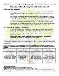 Sample Self Assessment For Work Self Assessment With Examples