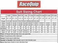Squat Suit Size Chart Racequip Racing Firesuit Suit Size Chart