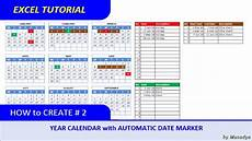 How To Create A Work Schedule On Excel How To Create Excel Calendar For Specific Year With