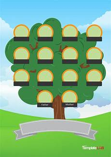 Family Tree Templates Online 41 Free Family Tree Templates Word Excel Pdf ᐅ