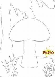 Malvorlagen Herbst Pilze Ausmalbild Pilze Kostenlose Malvorlage