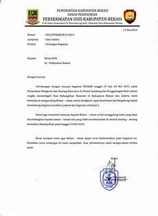 contoh surat undangan rapat untuk osis surat dan notulen