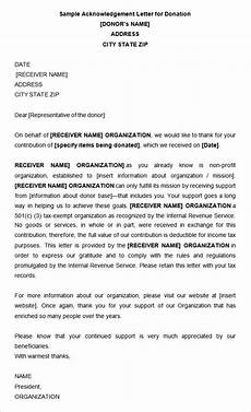 Acknowledgement Letter Example 31 Acknowledgement Letter Templates Free Samples