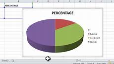Create Pie Chart In Excel How To Make A Pie Chart In Excel 7 Steps With Pictures