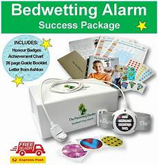 bedwetting alarm package new urine bed sensor