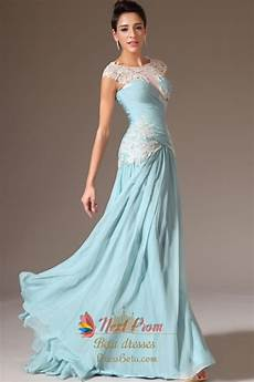 Light Blue Dress Cap Sleeves Cap Sleeve Light Blue Casual Prom Dresses Light Blue