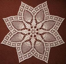 pineapple doily crochet pattern doily patterns
