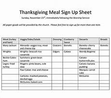Meal Sign Up Sheet Template 23 Sample Sign Up Sheet Templates Pdf Word Pages
