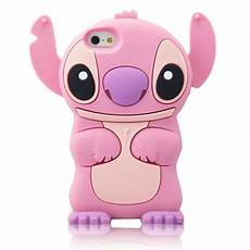 for iphone 5c 3d lilo stitch soft silicone character