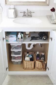 kitchen sink organizing ideas bathroom organization tips the idea room