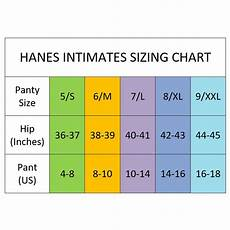 Hanes Little Girl Size Chart 8 Pairs Hanes Pure Comfort Briefs Cotton
