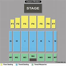 Caesars Windsor Colosseum Seating Chart 2 Tix Scorpions Queensryche F7 9 25 The Colosseum At