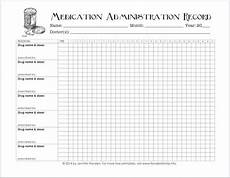 Drug Administration Chart Free Printable Chart For Tracking Medicines Medication