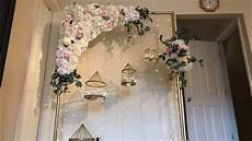 diy wedding diy floral swag diy floral arch diy wedding decor