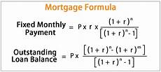 Payment Formula Mortgage Formula Calculate Monthly Repayments