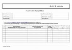 Corrective Action Plan Form Corrective Action Plan Template Madinbelgrade