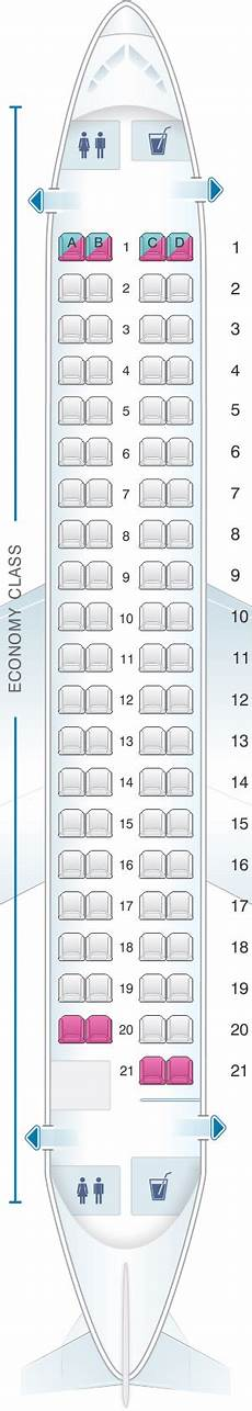 Lot Airlines Seating Chart Seat Map Lot Polish Airlines Embraer 175 Seatmaestro Com