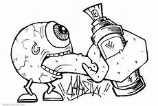 graffiti coloring pages line free printable coloring