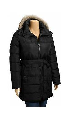4x coats for navy womens plus quilted puffer winter coat
